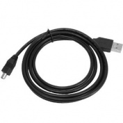 NIKON USB 2.0 male to mini B 5-pin male Equivalent UC-E4 / UC-E5 Interface cable with Ferrite Core for Select CoolPix D90 / D100 -200 -300 / D700 / D7000 Digital Series Cameras