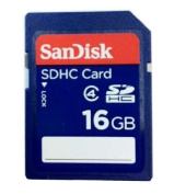 16GB Secure Digital Memory