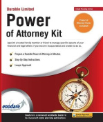 Durable Limited Power of Attorney Kit