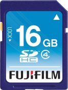 Fujifilm 16 GB SDHC Class 4 Flash Memory Card