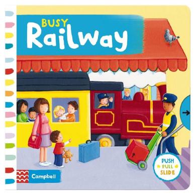 Busy Railway (Busy Books) [Board book]