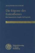 Die Erigone Des Eratosthenes [GER]