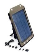 NEON YG-050 Portable Solar Charger Black/Dark Green