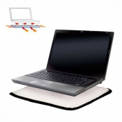 Notebook Buffer Laptop Cushion Pad Protects Against Spills Heat & Folds Up