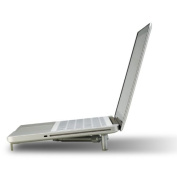 "Ergonomic Aluminium Portable Foldable Cooling X-Stand for 12""-43cm Laptops, Notebook PC, MacBook"