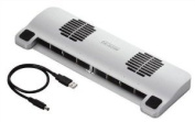 ELECOM chilly cool blizzard laptop cooling stand SX-CL03MSV