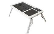 E-Table Portable Laptop Table/Desk w Cooler Fan E-table LD-09