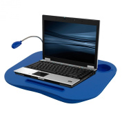 Laptop Buddy Laptop Desk and Cup Holder - Blue