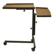 Adjustable Laptop Notebook Caddy Writing Desk in Espresso