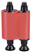 Evolis R2013 Red Monochrome Ribbon, 1000 prints