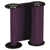 Acroprint Time Recorder Products - Replacement Ribbon For ET/ETC, Purple - Sold as 1 EA - Replacement ribbon is designed for use with Acroprint documents stamps ET/ETC.