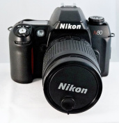 NIKON N80 QD 35mm SLR Camera Body -Requires Lens-