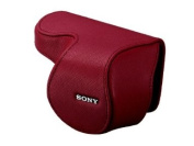 Sony Lens Case Jacket for NEX-5 NEX-3 with E16mm F2.8 Lens (SEL16F28) | LCS-EML1A R RED