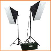 ePhoto Video Studio Photography Lighting kit softbox light kit video lighting kit CASE H9004S