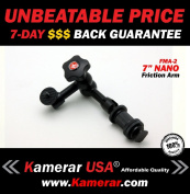 Heavy Duty PRO LED Video Light 18cm FMA-2 Magic Arm, with Variable Friction Adjustable Arm and Hot-Shoe Mount by Kamerar