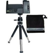 Quik Pod Mobile+ Universal Tripod Adapter for iPhone and Smartphones with carry bag and tripod legs