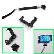 Extendable Handheld Monopod for iPhone 4/4S/5, for Samsung Galaxy S4 i9500