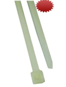 L.H. Dottie DT21H Cable Tie, Heavy Duty, 60cm Length by 0.9cm Width by 0.2cm Thickness, Natural, 50-Pack