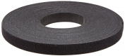 NSI Industries V900 hook and loop Cable Tie, Continuous Length, 1.9cm Width, 23m Length, Black