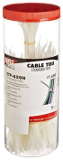 NSI Industries CTP-650N 650 Piece Cable Tie Canister Pack, Natural