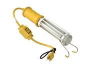 Reelcraft 1-163-3-8 Stubby II Fluorescent Light with 5.5m Cord Outlet Accessory