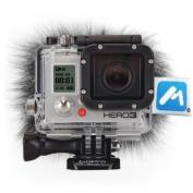 Micover Stickover Windscreen for GoPro HERO3, HERO2, HERO