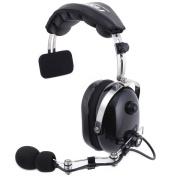 H15 Black Single Side Headset Racing Radios Electronics NASCAR Crew Chief OTH
