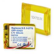 G.E. 5-2762/2770 LI-POL 500mAh-Battery