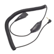 2.5mm Quick Disconnect Cord with Volume Control for OvisLink Call Centre Headsets