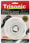 15m Single Jack Telephone Extension Cord