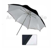 "Ardinbir Photography Photo Studio 43"" 110cm Black white Reflective Light Umbrella"