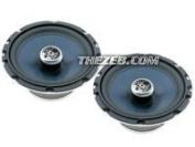 Audiobahn 17cm 2-Way Speakers with Removable Tweeters