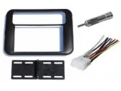 Pontiac Firebird / Trans Am 1993 1994 1995 1996 1997 1998 1999 2000 2001 2002 Double Din Aftermarket Stereo Radio Installation Instal Dash Kit + Wire Harness and Antenna Adapter