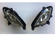 Kia Motors Genuine Fog Lights Lamp Assembly Left Right 2-pc Set For 2010 Kia Picanto : New Morning Only