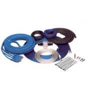 Tsunami 8 Gauge/350 Watt Amplifier Instal Kit with RCA's and Manl Fuse Holder AMP350BL-RCA, Blue