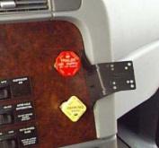 Panavise InDash Mount 97-09 Freightliner 75141-199
