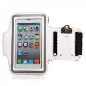 white waterproof armband case cover for apple iphone 5