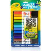. Marker Airbrush Stencil Kit
