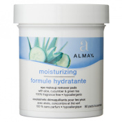 Almay Moisturizing Eye Makeup Remover Pads - 80 Count