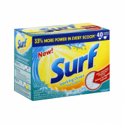 Surf Powder Laundry Detergent, Sparkling Ocean, 40 Loads, 1540ml