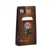 Starbucks VIA House Blend Coffee 8 ct