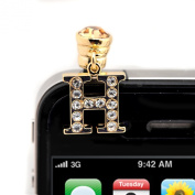 Iphone Jack Anti Dust Plug Cover Stopper H Initial