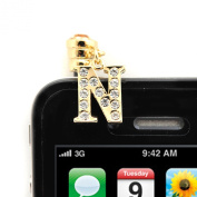 Iphone Jack Anti Dust Plug Cover Stopper N Initial