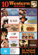 10 Western Movies (Against a Crooked Sky/The Gun and the Pulpit/The Hanged Man/Mohawk/The Young Land/The Deadly Companions/Guns [Region 4]