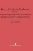 Diary of Frederick Mackenzie. Volume I