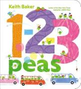 1-2-3 Peas (Classic Board Books) [Board book]