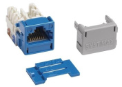 MGS400-318 - Systimax GigaSPEED® XL MGS400 Series Category 6 U/UTP Information Outlet, Blue