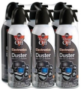 Falcon Dust-Off XL Compressed Gas Duster, 300ml, 6/PK SKU-PAS948602