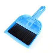 Gino PC Computer Keyboard Window Blue Plastic Cleaning Brush Dustpan Set