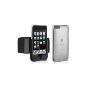 DLO DLA67001 SlimShell Sport Hardshell Case + Removable Armband for iPod Touch 3G and 2G DLO DLA670